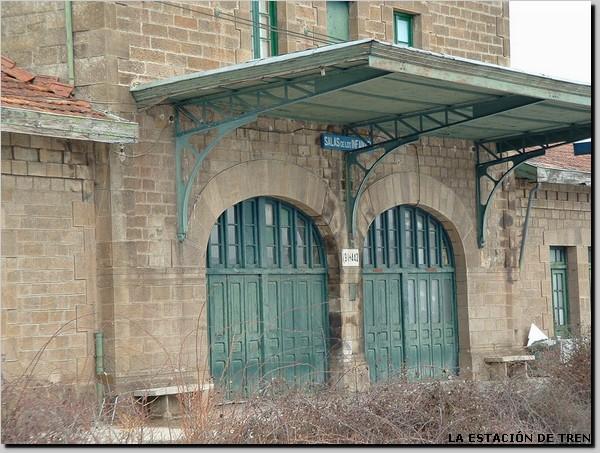 Imagen de la estación de Salas de los Infantes. Foto: Angel Culebras.