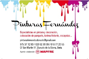 Publicidad Pinturas fernandez