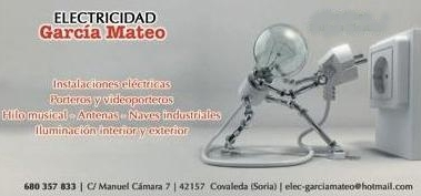 Publicidad Electricidad Garcia Mateo