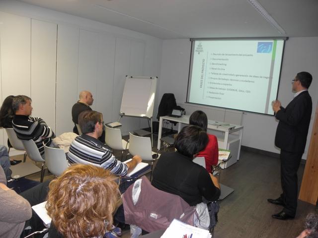 Juan Carlos Martínez Barrio fue el encargado de impartir el taller.
