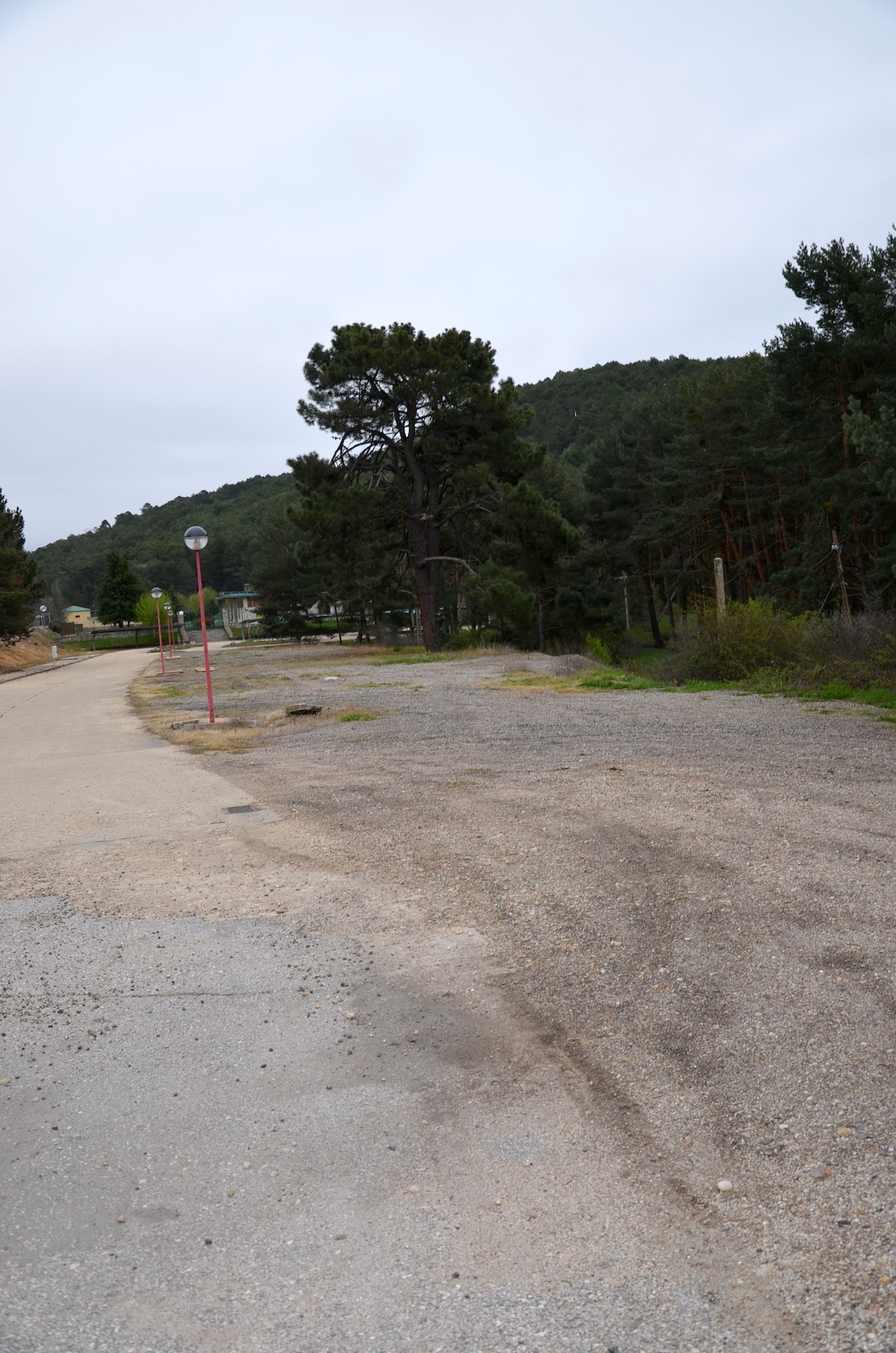 Lugar donde se quiere instalar el área de autocaravanas.