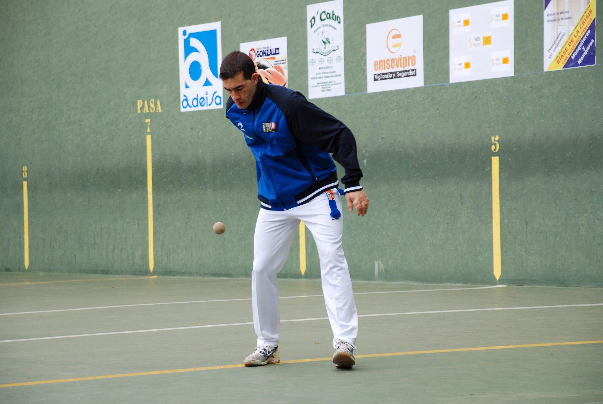 El Club de Pelota Urbión se estrena en el Campeonato de España en Colmenar Viejo