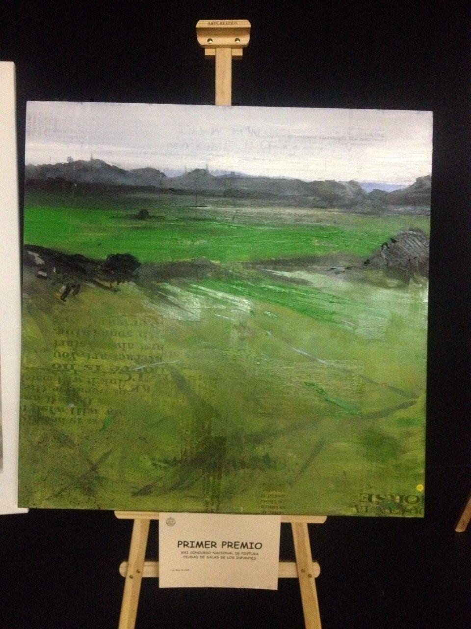 Cuadro ganador del XXI Concurso Nacional de Pintura.