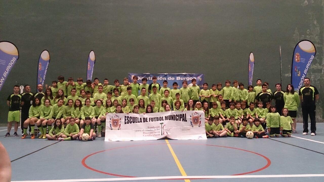 Escuela de Fútbol en 2015.