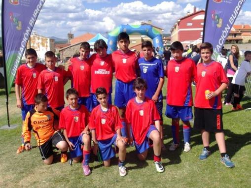 Uno de los equipos participantes.