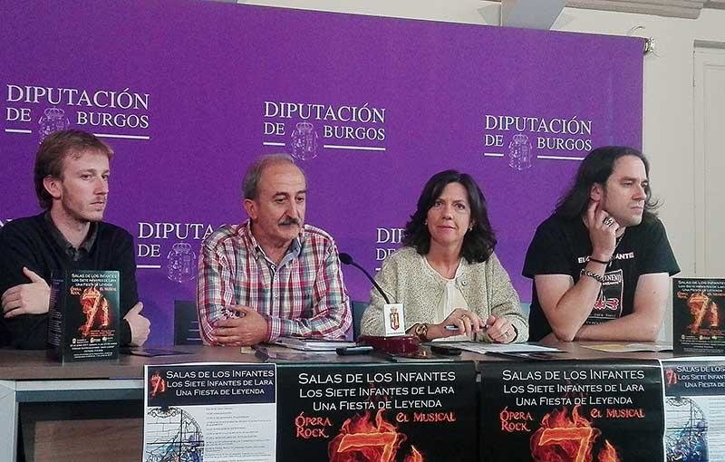 Presentación realizada en la Diputación de Burgos./Foto: El Correo.