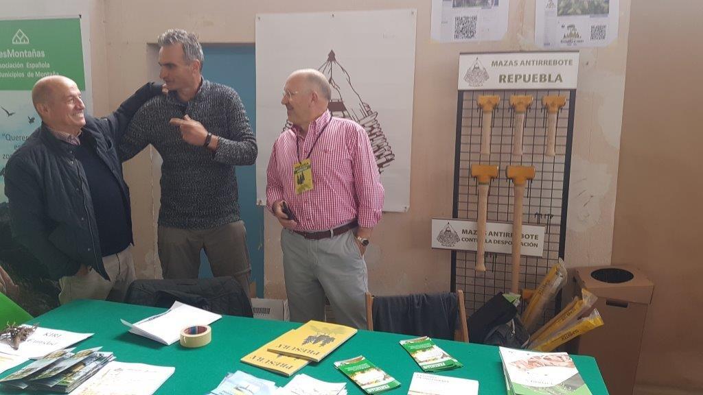 Representantes de Repuebla en la primera edición de la Feria.