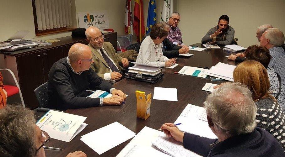 Reunión de la directiva de Agalsa el 21 de noviembre.