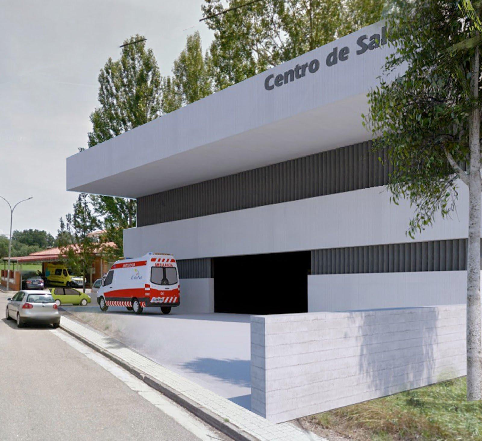 Maqueta de las futuras instalaciones en Salas.