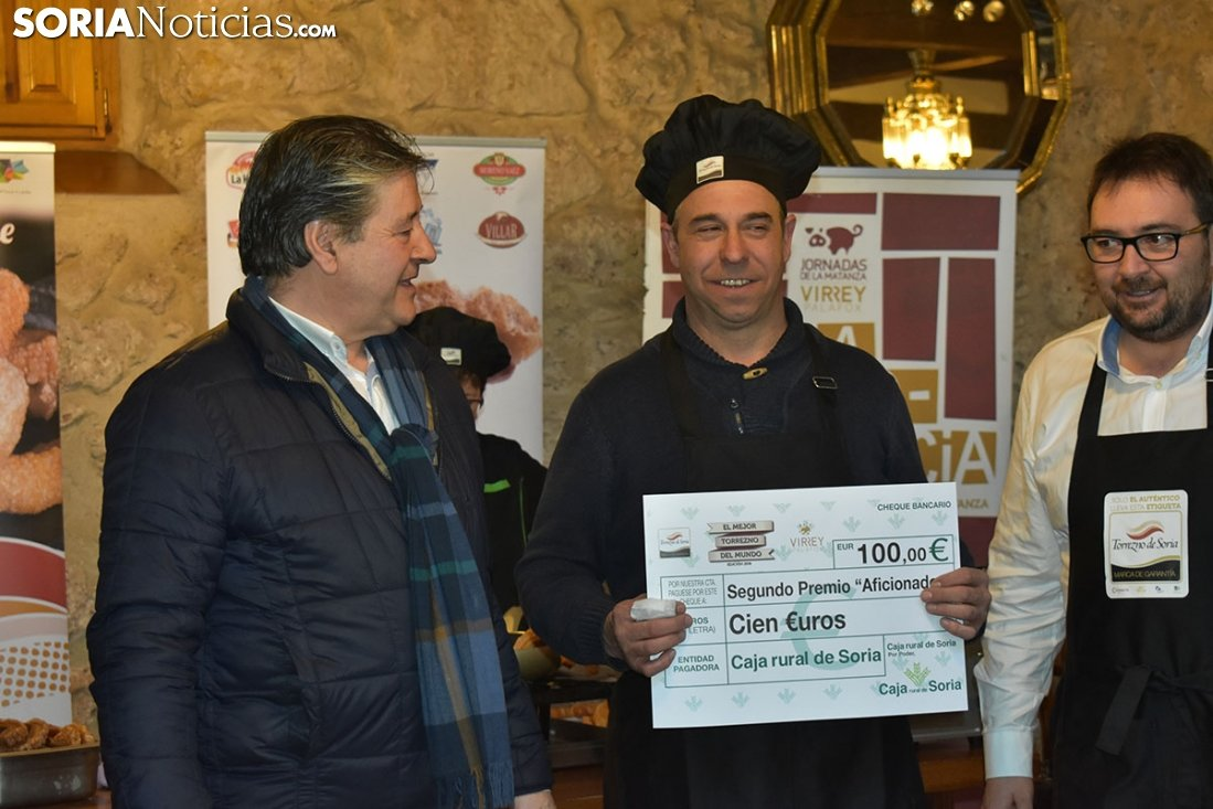 Antonio con el diploma acreditativo. Fotos: Soria Noticias.