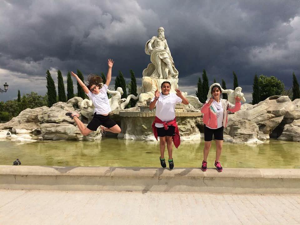 Imágenes de la excursión a Madrid./Fotos: Ayto de Navaleno.
