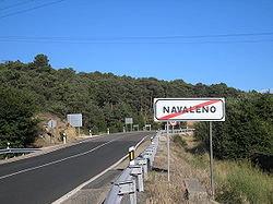 El accidente ocurrió en la travesía cerca del límite del casco urbano de la población.