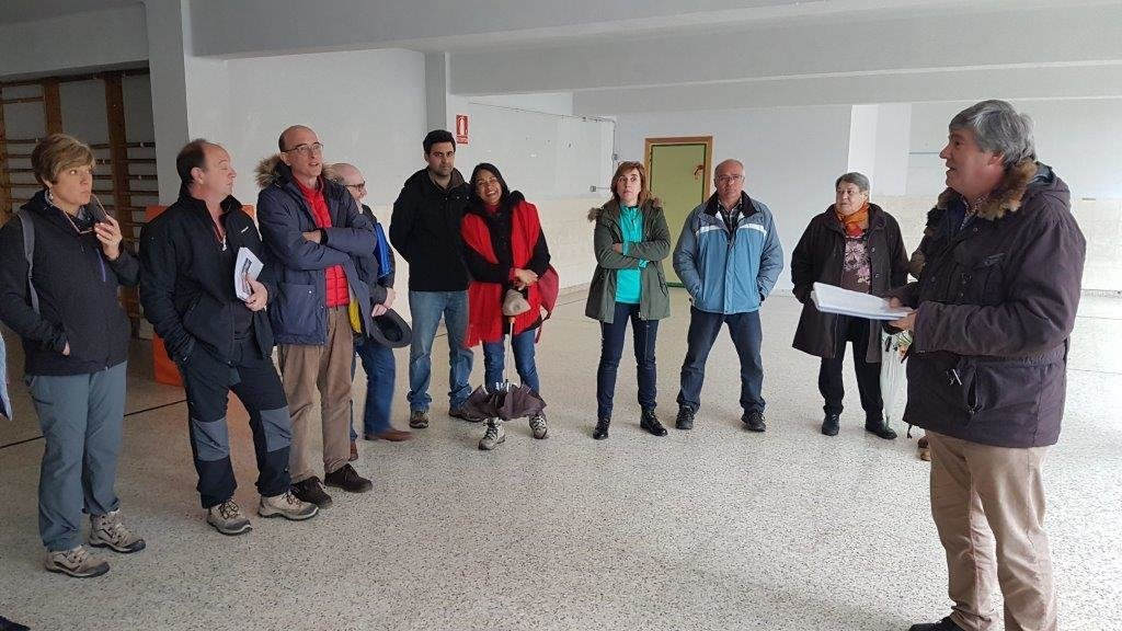 Participantes del programa Arraigo en Navaleno.