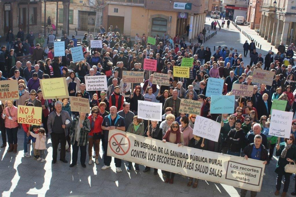 Imágenes de la manifestación de este sábado 17.
