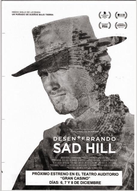 Portada del cartel anunciador de las proyecciones en Salas.