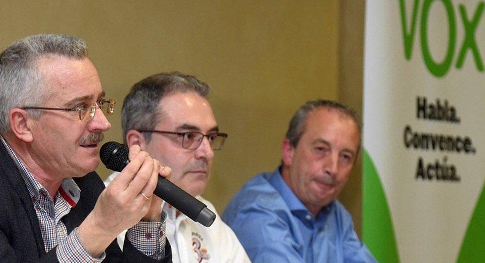 Imagen del acto en Salas./Foto: Correo de Burgos.