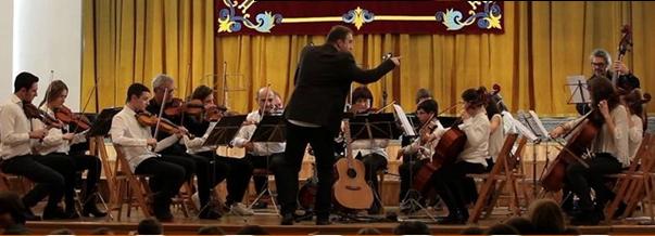 Orquesta de Cámara Escuela Municipal de Música de Burgos.
