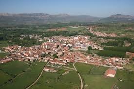 Vista aérea de Salas de los Infantes